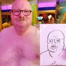"Portrait work made by Steven ""Smashy"" Barker."