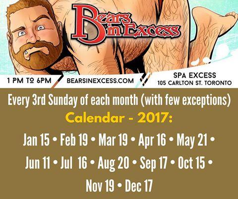bears-in-excess-calendar-2017
