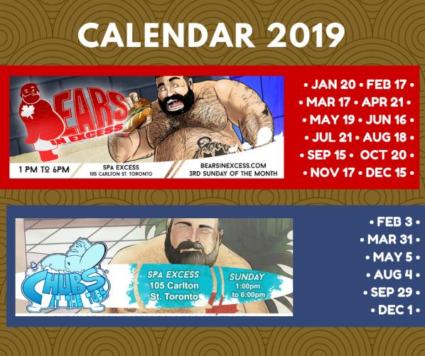 calendar events 2019